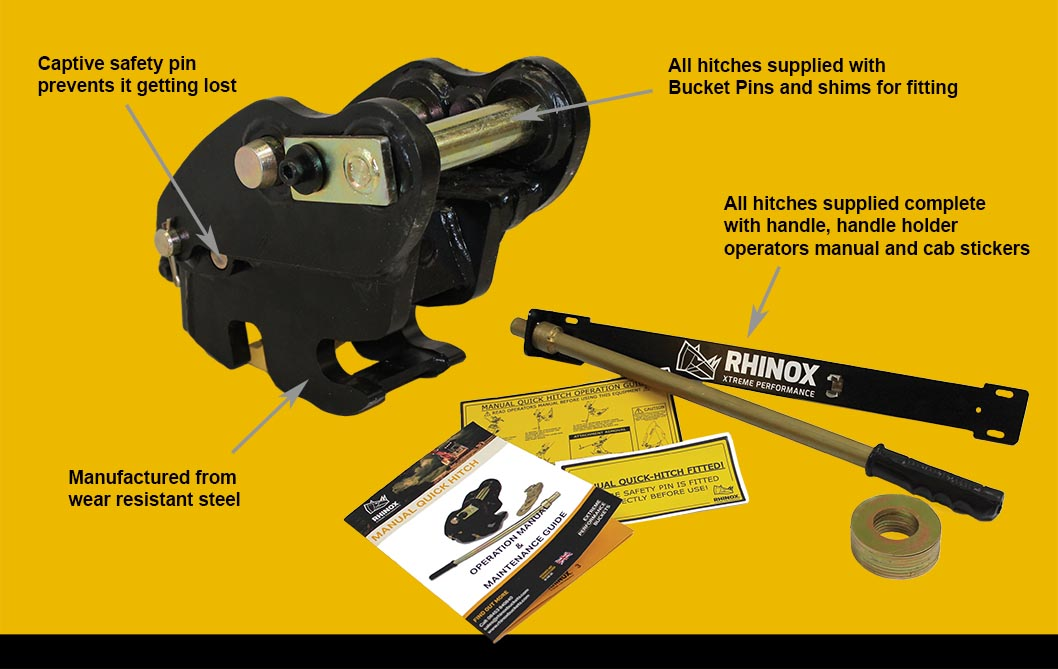 Rhinox Quickhitch kit